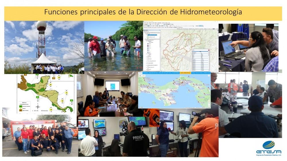 FUNCIONES DE HIDROMET